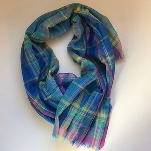 Accessories - NWOT Colorful Lightweight Scarf